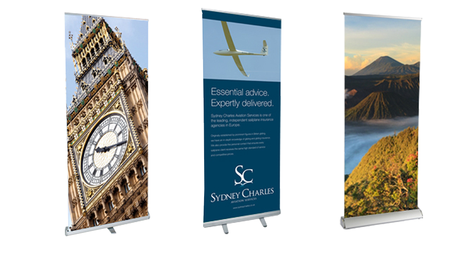 Roller Banners & Pop-up Stands